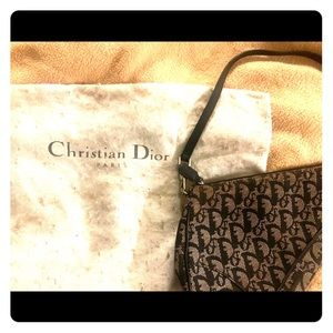 "Christian Dior Vintage ""saddle bag"""